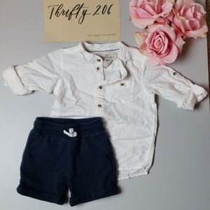 Boys Size 9-12M Outfit